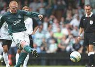 Lennon slots away the penalty