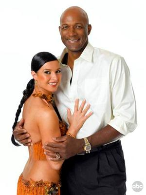 Clyde Drexler and Elena Grinenko