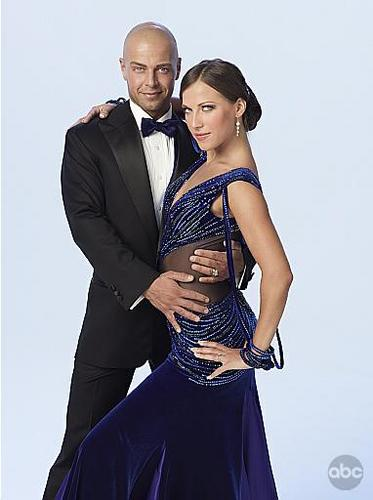 Joey Lawrence and Edyta Sliwinska