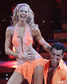Tony Dovolani and Stacy Keibler