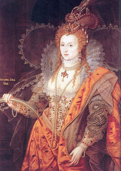 Elizabeth I - The Rainbow Portrait, c. 1600