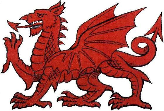 Red Dragon. Draig Coch - Mythical Creatures Guide