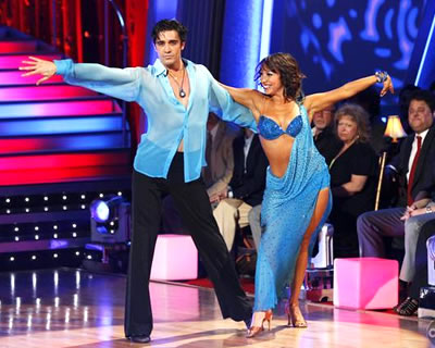 Gilles Marini and Cheryl Burke