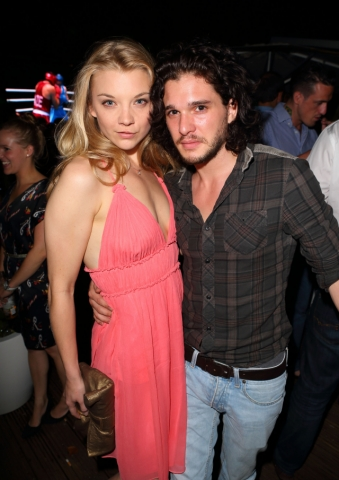 Natalie Dormer & Kit Harrington- August 10th OMEGA House Presents 'Brazil Night' Party