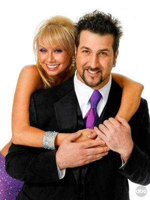 Joey Fatone and Kym Johnson