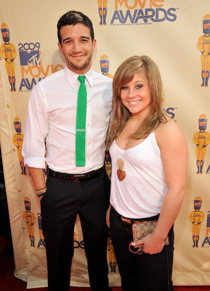 Mark Ballas and Shawn Johnson at the 2009 MTV Music Awards