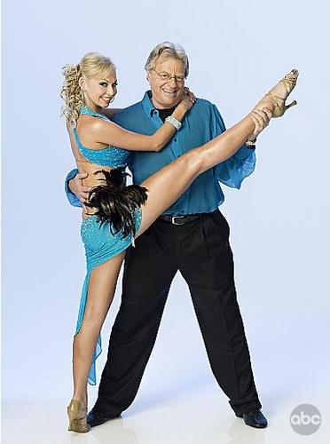 Jerry Springer and Kym Johnson