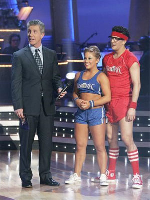 Mark Ballas & Shawn Johnson: Most Gimmicky Getup