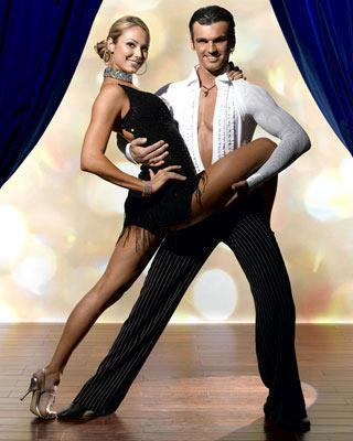 Stacy Keibler and Tony Dovolani