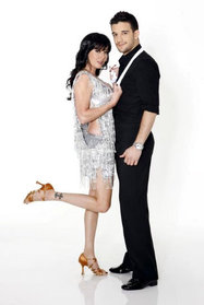 Shannon Doherty and Mark Ballas