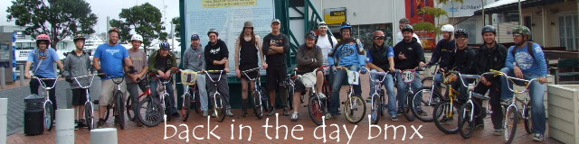 BACK IN THE DAY BMX