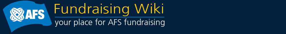 The Official AFS Fundraising Wiki