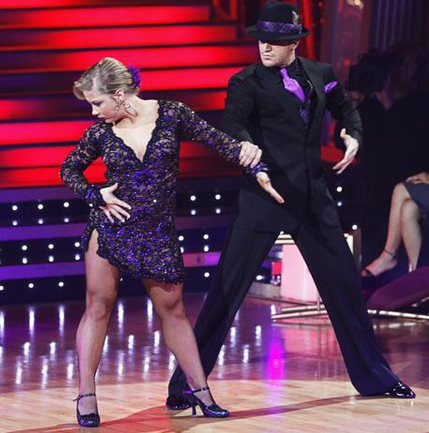 Shawn Johnson & Mark Ballas: All-Time Creepiest Performance