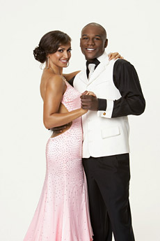 Floyd Mayweather Jr. and Karina Smirnoff