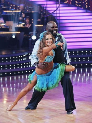 Lawrence and Edyta: Samba