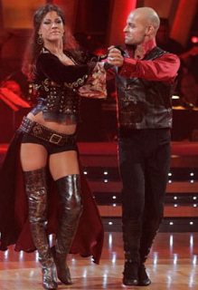 Edyta Sliwinska & Joey Lawrence: Best S&M Costume