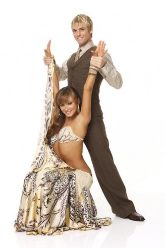 Aaron Cater and Karina Smirnoff