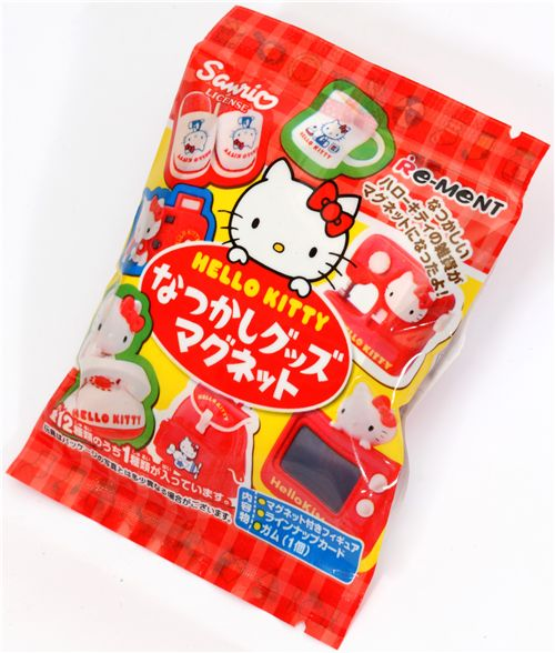 Re-Ment Hello Kitty Magnets miniature blind packet 2
