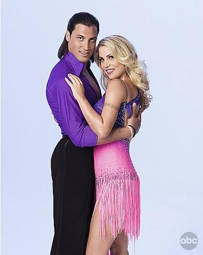 Willa Ford and Maksim Chmerkovskiy