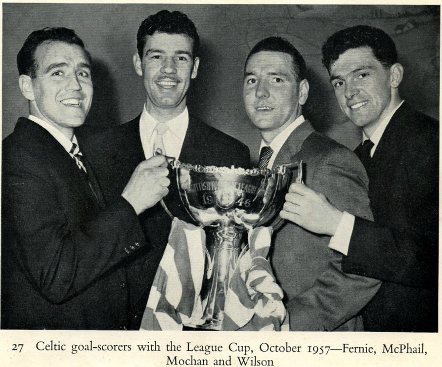 1957-10-19: Celtic 7-1 Rangers, League Cup - Pictures - The Celtic Wiki