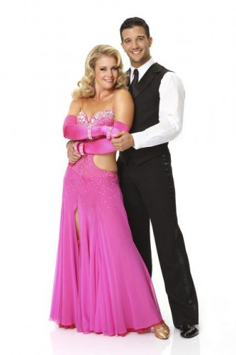 Melissa Joan Hart and Mark Ballas
