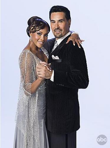 Vivica A. Fox and Nick Kosovich
