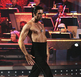 Gilles Marini: Best Male Peacock