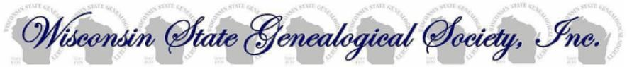 Wisconsin State Genealogical Soc.