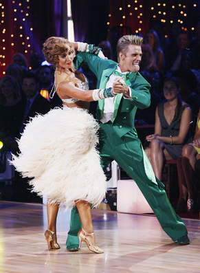 Karina Smirnoff & Aaron Carter: Best Pop Culture Homage
