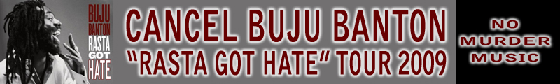 "Cancel Buju Banton ""Rasta Got Hate"""