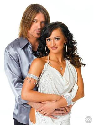 Billy Ray Cyrus and Karina Smirnoff